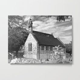 English Country church Metal Print