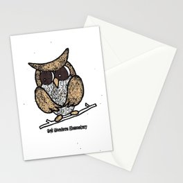 Oak Meadows Owls - Comicesque Stationery Cards