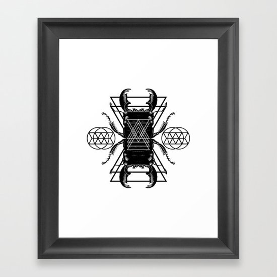 DIVIDUS  Framed Art Print