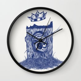 King of the Little Forrest Wall Clock