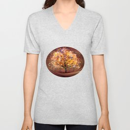Starry Tree Unisex V-Neck