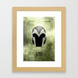 X-Men: First Class - Minimal Framed Art Print