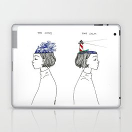 The Chaos and The Calm Laptop & iPad Skin