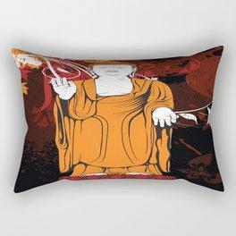Vintage Buddha Rectangular Pillow