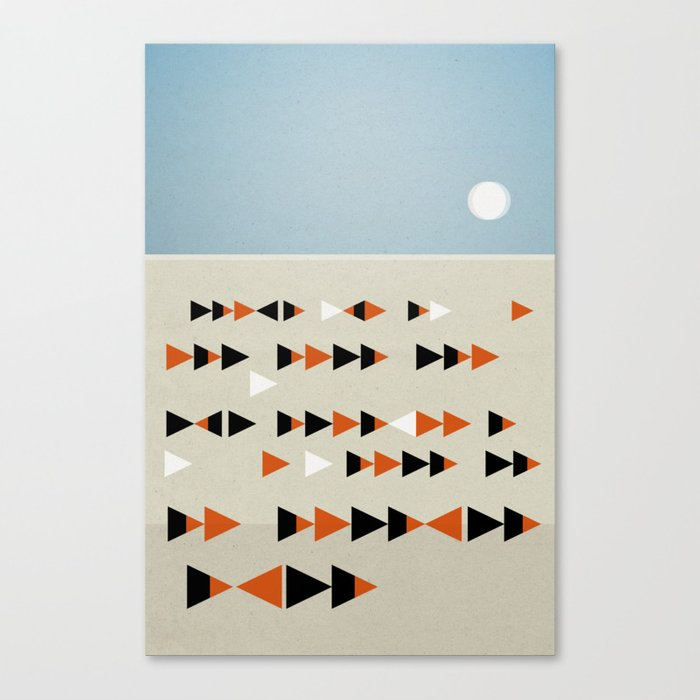 Gulf Flock Canvas Print