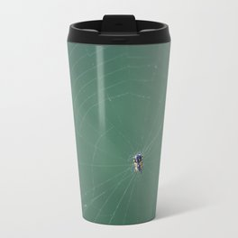 In the spider's net Travel Mug