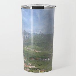 Mountain village Travel Mug