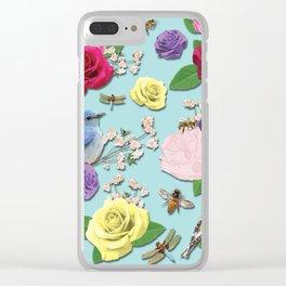 Martha's Garden Clear iPhone Case
