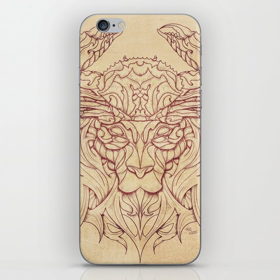 Lion Crab iPhone & iPod Skin