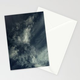 Cloud and sky 9 -cloud, sky, blue, positive,optimism Stationery Cards