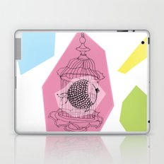 Fishy in Cage Laptop & iPad Skin