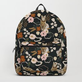 FLOWERY WILD CAT II Backpack