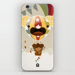 Chestnut Girl Balloon!!! iPhone Skin