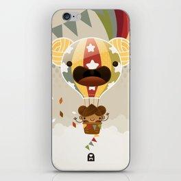 Chestnut Girl Balloon!!! iPhone Skin
