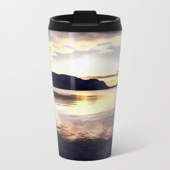Icmeler Seascape Metal Travel Mug
