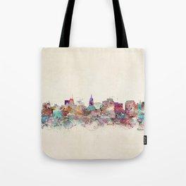 Madison Wisconsin skyline Tote Bag