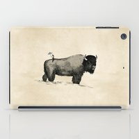bison iPad Cases featuring Bison by Eric Tiedt