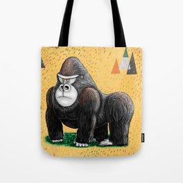 Endangered Rainforest Mountain Gorilla Tote Bag