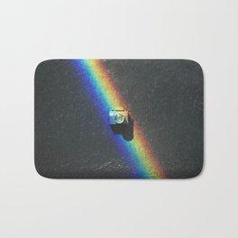 Rainbow & Tiny Tiny Camera Bath Mat