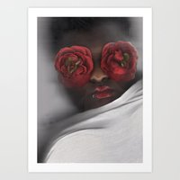 transparent Art Prints featuring Transparent  by Mechela' Bizzell | Photography