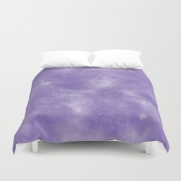 Abstract Watercolor in Ultra Violet Pantone color of year 2018 Duvet Cover