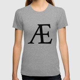 AE (Æ) Symbol T-shirt