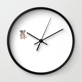The Catahoula Leopard Dog Is My Spirit Animal Wall Clock
