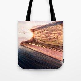 Piano Accord in Sea minor Tote Bag