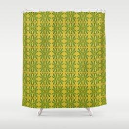 Marijuana Leaf Pattern Shower Curtain