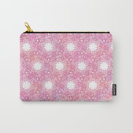 Fire Thistle Spirals Carry-All Pouch