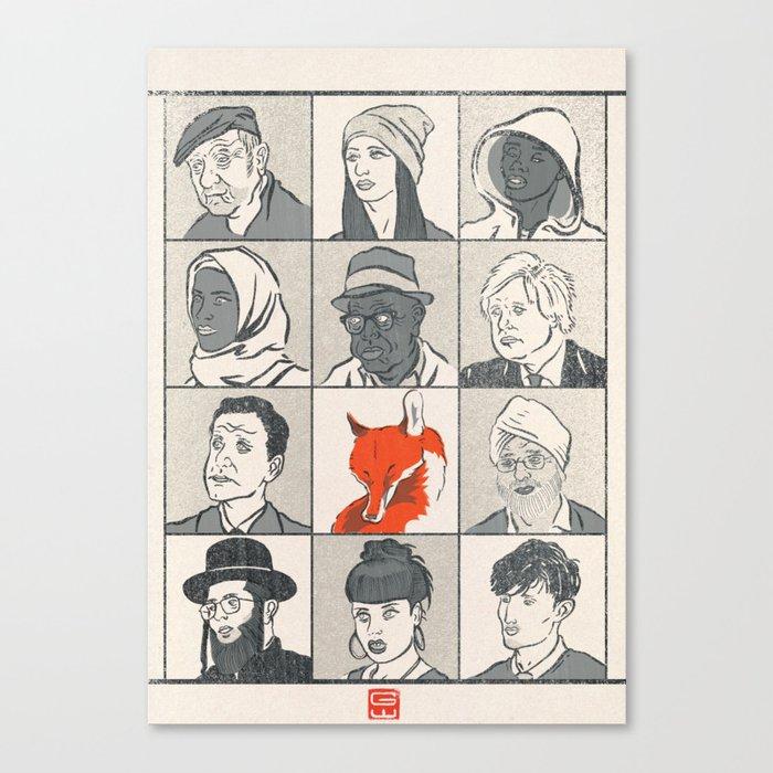 Londoners Canvas Print