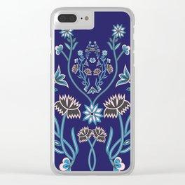 Norwegian Heritage Nordland Clear iPhone Case