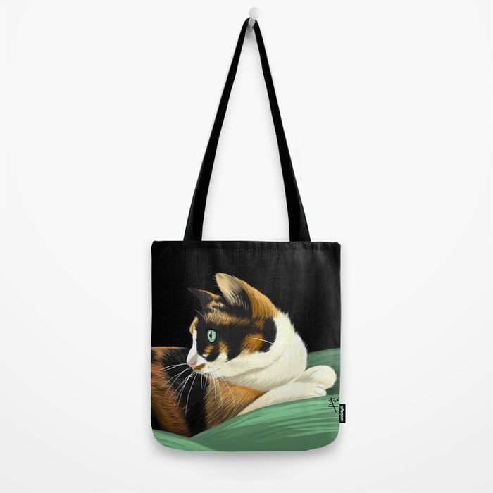 My lovely cat Tote Bag