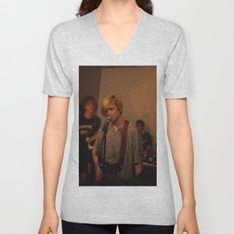 DIIV early day at Brooklyn Unisex V-Neck