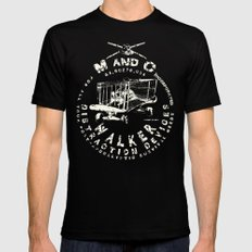 M and C incorporated Mens Fitted Tee MEDIUM Black