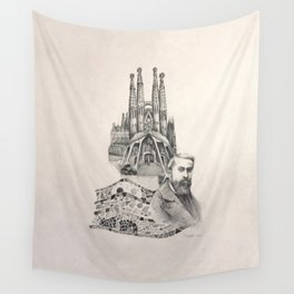 Tribute to Gaudi Wall Tapestry