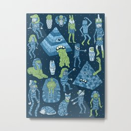 Wow! Mummies! Metal Print