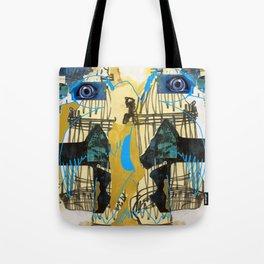 Blue Bird Escape  Tote Bag