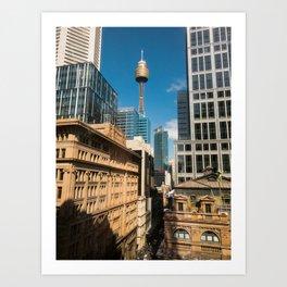 Pitt Street, Sydney Art Print