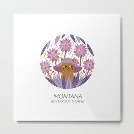 American Cats - Montana Metal Print
