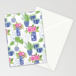 Chinoiserie Cactus Stationery Cards