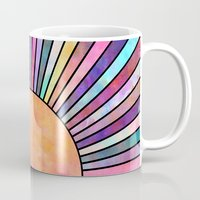 sunrise Mugs featuring Sunrise by Schatzi Brown
