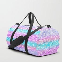 Unicorn Girls Glitter #15 #shiny #decor #art #society6 Duffle Bag