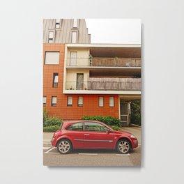 Renault Megane Coupe - The Remanent Gladiator Metal Print