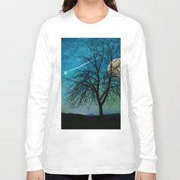 Solitude Harvest Moon Long Sleeve T-shirt