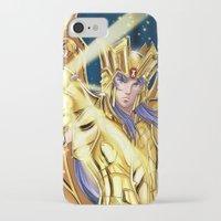 saga iPhone & iPod Cases featuring Gemini Saga by Studio Kawaii