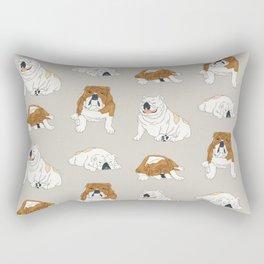 Gigi & Carmine Rectangular Pillow