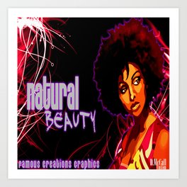 Natural Beauty Art Print