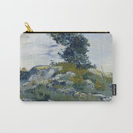 Vincent Van Gogh - Rocks with Oak Tree Carry-All Pouch