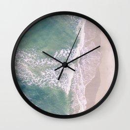 Empty Oceanside Wall Clock